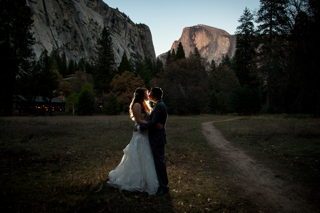 Autumn and Pasquale wedding in Yosemite.