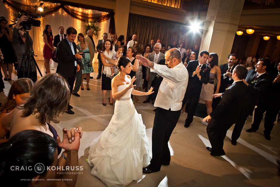 The Grand 1401 first dance