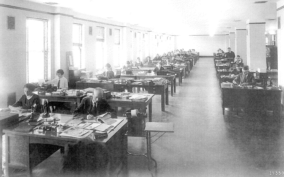 Offices at The Grand 1401 in 1924